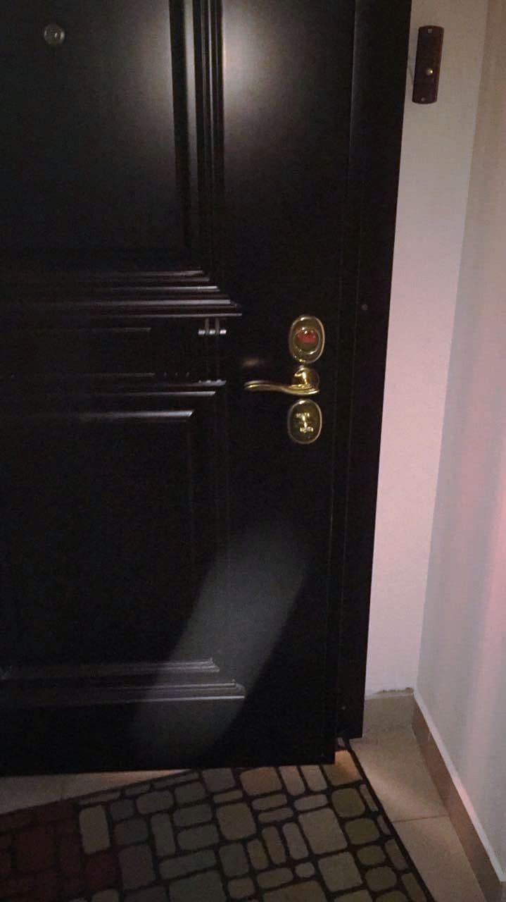 Входная дверь, моноблок Mottura (Моттура) и личинка Cisa Asics (Чиза Асикс), дверная ручка Hoppe (Хоппе), врезная броня Cisa (Чиза)
